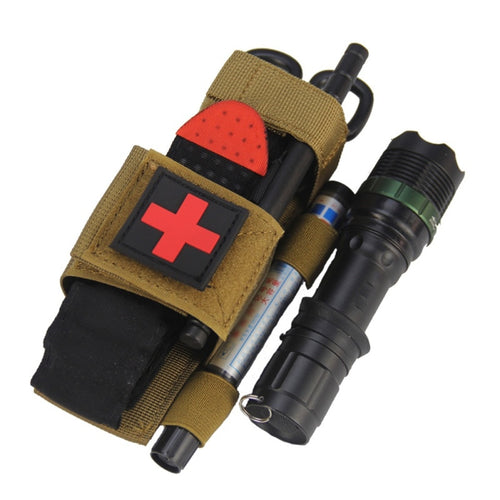 Medical Military Tactical Emergency Tourniquet pouch works with C.A.T. Tourniquet - Ding's Place