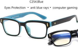 Blue Ray Computer Glasses Men Screen  Eyewear Office Gaming Blue Light UV Blocking - Ding's Place