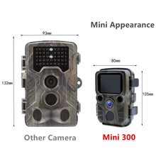 Load image into Gallery viewer, Mini Trail Camera Hunting Game Camera 12MP 1080P Outdoor Wildlife Camera with PIR Sensor 0.5s Fast Trigger Waterproof scouting - Ding's Place
