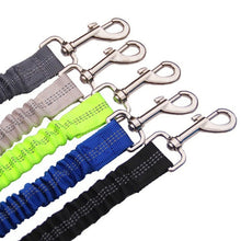 Load image into Gallery viewer, Upgraded Adjustable Dog Seat Belt Dog Car Seatbelt Harness Leads Elastic Reflective Safety Rope Pet Dog Cat Supplies - Ding's Place