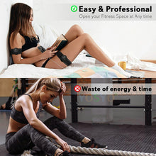 Load image into Gallery viewer, EMS Wireless Muscle Stimulator Trainer Smart Fitness Abdominal Training Electric Weight Loss Stickers Body Slimming Massager - Ding's Place