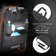 Load image into Gallery viewer, Car Seat Storage Bag Back Seat Organizer Box Car Seat Back Storage Bag Pad Cups Storage Holder  Fabric - Ding's Place