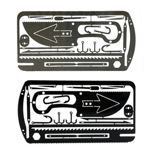 22 In 1 Fishing Gear  Multi-Tool Outdoor Camping Survival Tools Hunting Emergency Survival EDC Kit - Ding's Place