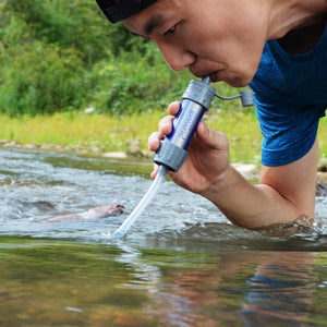 Outdoor Survival Water Filter Straws Camping Equipment Water Purifier Water Filtration System Emergency Hiking Accessories - Ding's Place