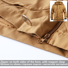 Load image into Gallery viewer, Mege Knight Men's Tactical Clothing Field Jacket  Men Autumn - Ding's Place