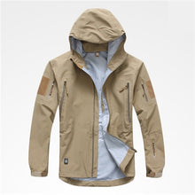 Load image into Gallery viewer, Jacket Hard-shell, tactical windbreaker coat - Ding's Place