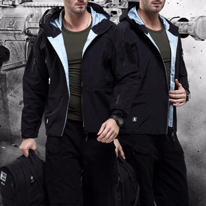 Jacket Hard-shell, tactical windbreaker coat - Ding's Place