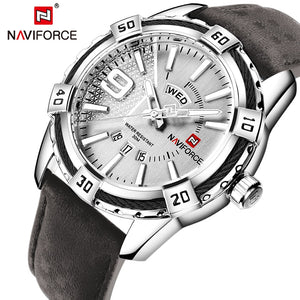 New NAVIFORCE Men Watches Fashion Quartz Wrist Watches Men's Military Waterproof Sports Watch Male Date Clock Relogio Masculino - Ding's Place