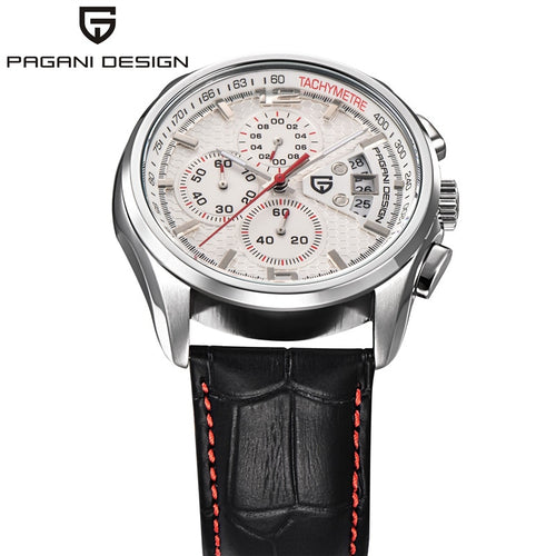 Men Quartz Watches PAGANI DESIGN Luxury Brands Fashion Timed Movement Military Watches Leather Quartz Watches relogio masculino - Ding's Place