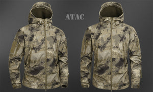 MEGE KNIGHT Clothing Men's Military Camouflage Jacket Army Tactical Clothing - Ding's Place