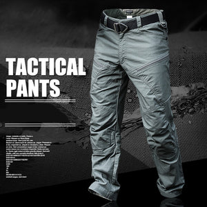 Mege Brand Military Army Pants Men's Urban Tactical Clothing Combat Trousers Multi Pockets Unique Casual Pants Ripstop Fabric - Ding's Place