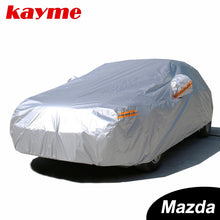Load image into Gallery viewer, Kayme Waterproof full car covers sun dust Rain protection car cover auto suv protective for mazda 3 2 6 5 7 CX-3 cx-5 cx-7 axela - Ding's Place