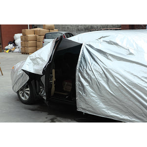 Kayme Waterproof full car covers sun dust Rain protection car cover auto suv protective for mazda 3 2 6 5 7 CX-3 cx-5 cx-7 axela - Ding's Place