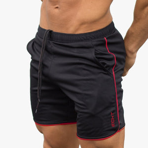 Mens Breathable Mesh Cool Shorts Summer Beach Short Pants Male Gyms Fitness Workout Bodybuilding Jogger Crossfit Slim Sportswear - Ding's Place