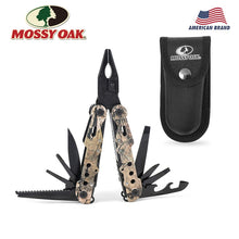 Load image into Gallery viewer, Mossy Oak 13 in 1 Camping Multi Tools Multifunction Plier Outdoor Survival Gear Folding Pocket Plier - Ding's Place