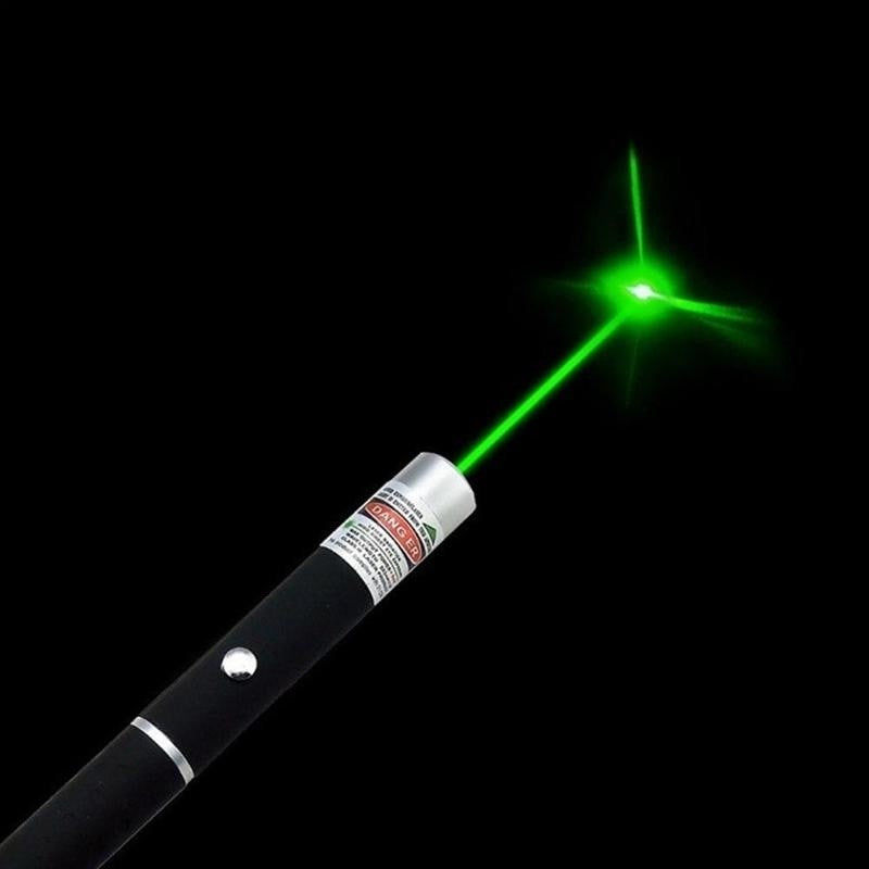 Powerful Green Laser Pointer Pen Beam Light 532NM 5MW Professional Survey with A Laser Pointer - Ding's Place