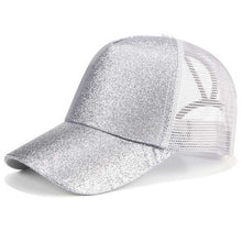 Load image into Gallery viewer, fashion women men ponytail baseball cap - Ding's Place