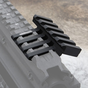 ohhunt Tactical 5 Slots 30 Degrees Picatinny Weaver Angle Offset Adapter Rail Mount Base For AR 15 Rifle Red Dot Flashlights - Ding's Place