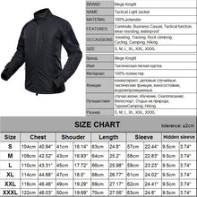 Load image into Gallery viewer, MEGE Men's Waterproof Military Tactical Jacket Men Warm Windbreaker Bomber Jacket - Ding's Place