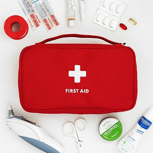 Outdoor First Aid Kit Bag Travel Package Hunt Emergency Kit Bags Medicine Storage Bag Small Organizer - Ding's Place