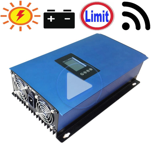 1000W Battery Discharge Power Mode/MPPT Solar Grid Tie Inverter with Limiter Sensor - Ding's Place