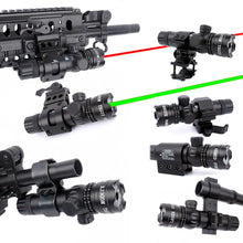 Load image into Gallery viewer, Green Red Dot Laser, Adjustable Switch Rifle - Ding's Place