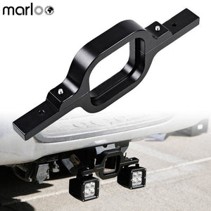 "Marloo 3"" Tow Hitch Mount Bracket Universal Fit Truck SUV Trailer RV LED Backup Reverse Lights Off-Road Work Lamps - Ding's Place"