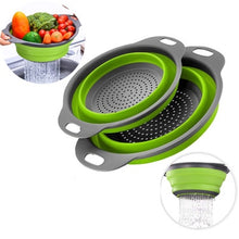 Load image into Gallery viewer, Kitchen Drainer Colander  Rack Collapsible Dish Drying Rack - Ding's Place