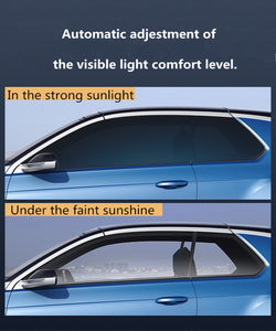SUNICE Sputter Solar Tint Film Sun Control Film Heat Insulation Photochromic Film VLT Changed 73%~43% Car Building Summer Use - Ding's Place