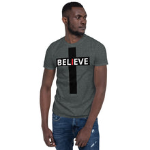 Load image into Gallery viewer, Believe faith hope and love Short-Sleeve Unisex T-Shirt - Ding's Place