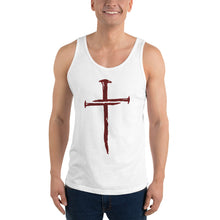 Load image into Gallery viewer, Nails / Cross Unisex Tank Top - Ding's Place