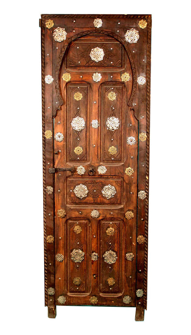Berber Door with Metal Decoration