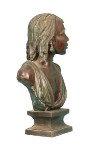 African Woman Bust