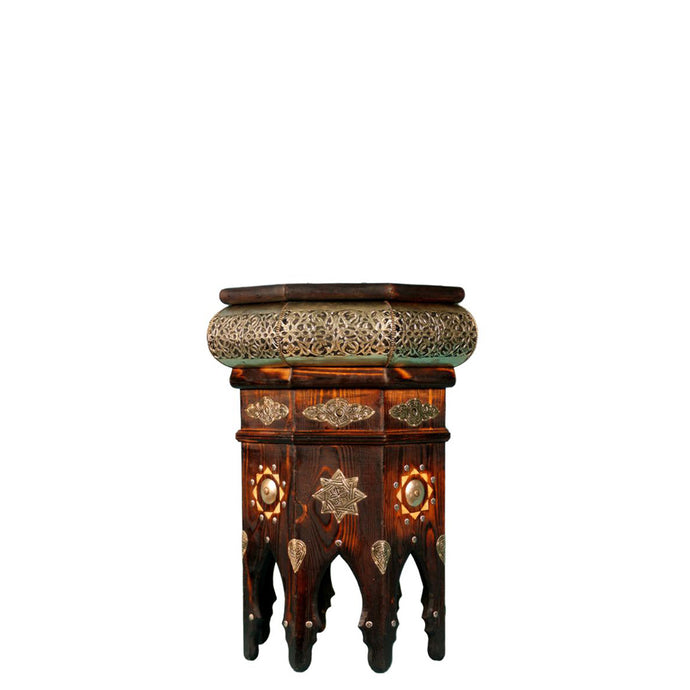 Gerda Inlaid Side Table