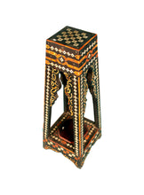 Load image into Gallery viewer, Moroccan Bone and Brass Side Table