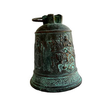 Load image into Gallery viewer, St.George the Dragon slayer and Archangels carved bronze bell.