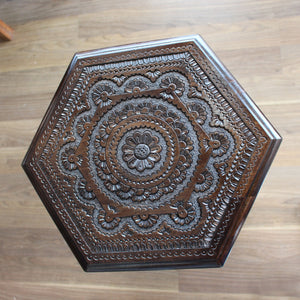 Konjic Hand-carved Stool