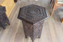 Load image into Gallery viewer, Konjic Hand-carved Stool