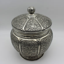 Load image into Gallery viewer, Ottoman Style Silver Punch Bowl