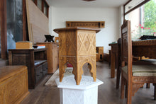 Load image into Gallery viewer, Hand-carved Konjic Stool