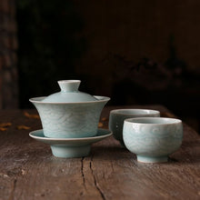 Load image into Gallery viewer, Lucky Cloud' Celadon Tea Set
