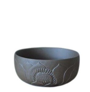 Lotus Carved Small Celadon Cup
