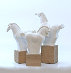 Horseland Sculptures Triplet