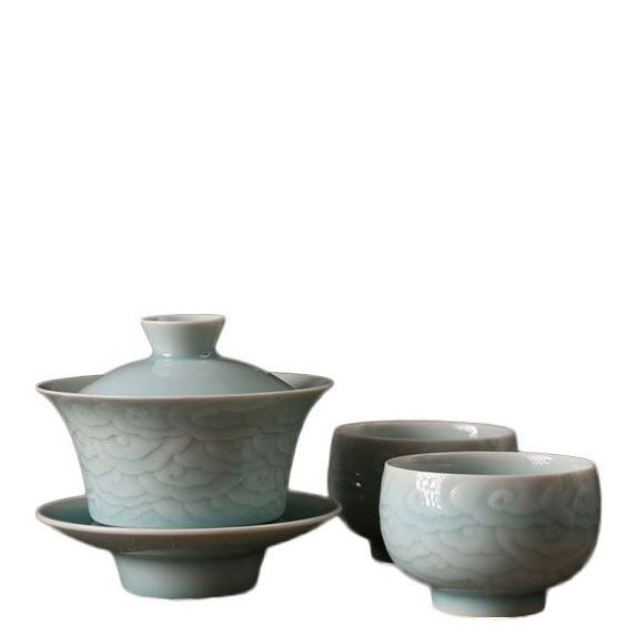 Lucky Cloud' Celadon Tea Set