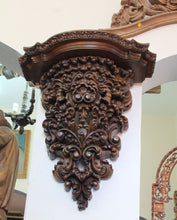 Load image into Gallery viewer, Carved Wooden Corbel