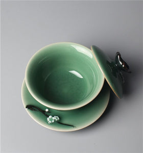 """Hidden Fragrance and Scarce Shadow"" Series-Bowl Cup"