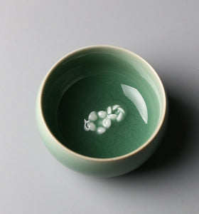 """Hidden Fragrance and Scarce Shadow"" Series-Small Tea Cup Style 3"