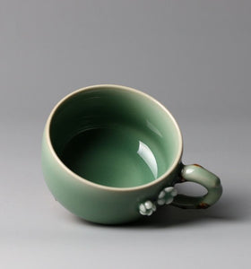 """Hidden Fragrance and Scarce Shadow"" Series-Cup with Handle(Coffee Cup)"