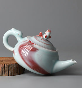 """Fish Leaping Over the Dragon Gate"" Series Teapot"