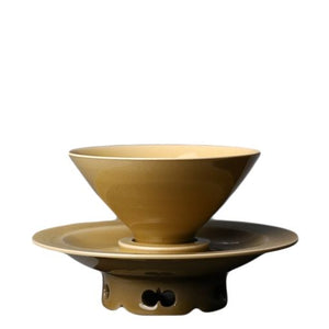 """Bamboo Hat"" Bowl Cup Set"